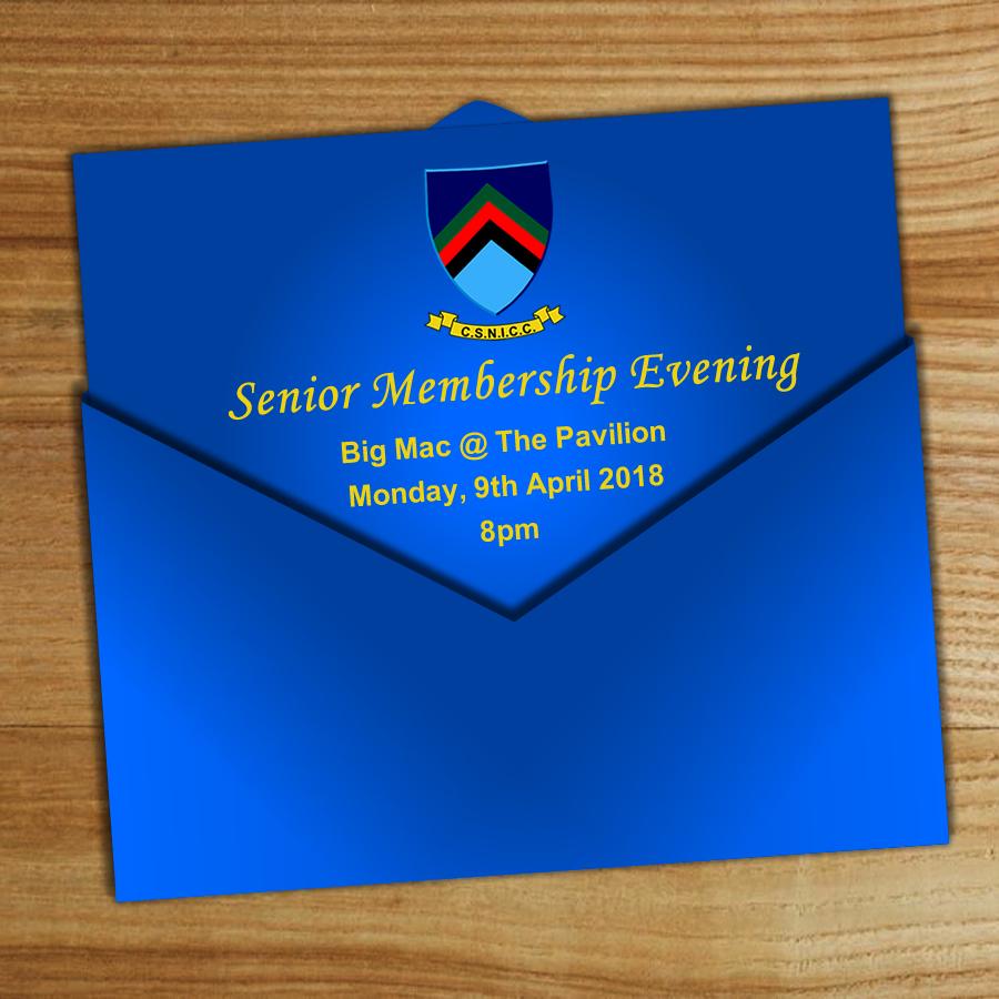 Senior Membership Evening!