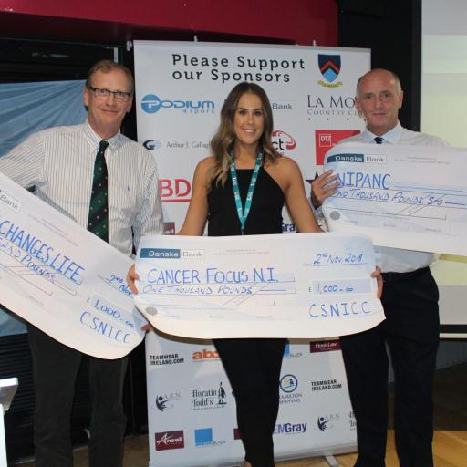 Local charities receive £4,000 at CSNICC Awards Dinner