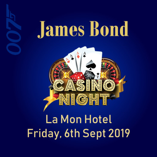 James Bond Casino Night!
